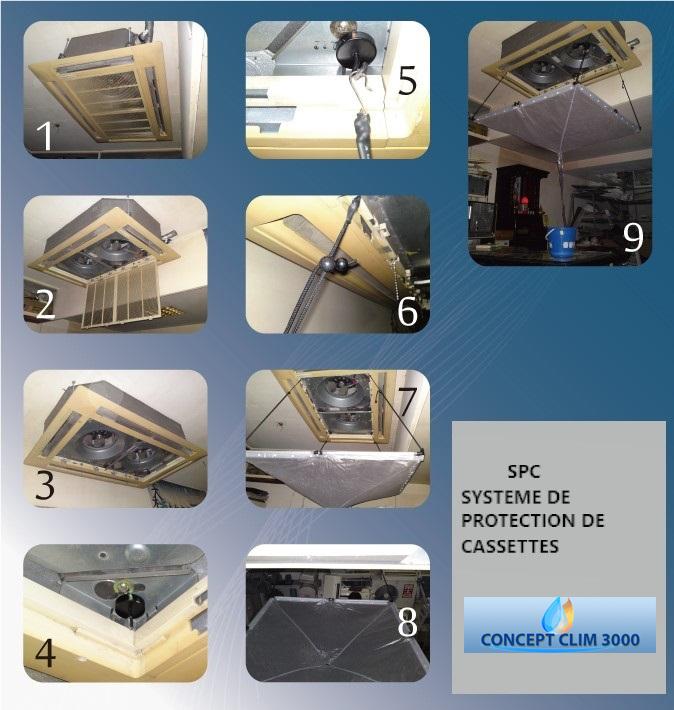 Fiche Clim3000 Système de protection des cassettes (SPC)